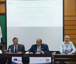 افتتاح ورشة عمل «تطوير تدويل المؤسسات والجامعات» بالأسكندرية