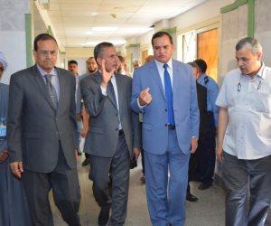 افتتاح العناية المركزة للأمراض العصبية مستشفى سوهاج الجامعي