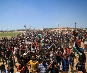بينهم أطفال ونساء.. «الصحة الفلسطينية» تكشف عدد مصابي مسيرة العودة