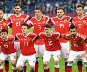 مجموعة مصر.. روسيا تعلن القائمة الأولية لنهائيات المونديال