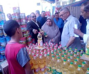إقبال كثيف من المواطنين على معارض «اهلا رمضان» في الشرقية