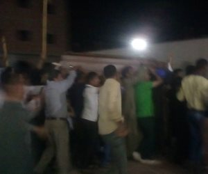 وصول رفات شهداء مذبحة داعش بليبيا إلى المنيا (صور)
