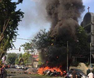 """مقتل شخص واعتقال 13 آخرين على خلفية هجمات """"سورابايا"""" فى إندونيسيا"""