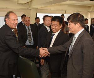 محافظ الإسكندرية يشارك في منتدي الأعمال المصري الصيني بالغرفة التجارية (صور)
