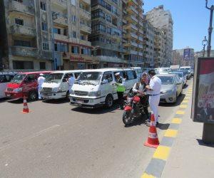 تفعيل الخطة المرورية لسحب الكثافات من القاهرة والجيزة قبل الإفطار (فيديو)