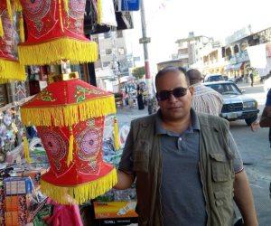 أهالي شمال سيناء يقبلون على شراء فوانيس رمضان.. والأسعار حسب الميزانية (صور)