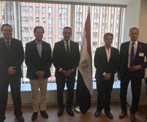 الدكتور صلاح حسب الله يلتقي قنصل عام مصر في نيويورك (صور)