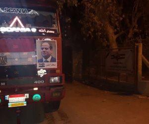 بعد قرار الرئيس بفتح معبر رفح.. انطلاق قوافل المساعدات المصرية إلى قطاع غزة (فيديو وصور)