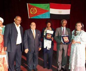 فرقة أسوان للفنون الشعبية تشارك فى افتتاح مهرجان عيد استقلال إريتريا