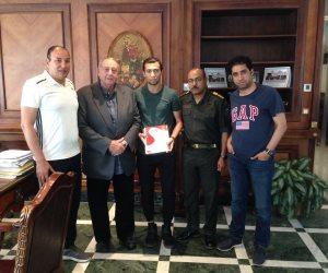 طلائع الجيش يضم أحمد سامي مدافع المقاصة