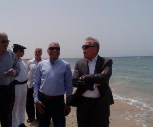 محافظ جنوب سيناء يصدق على 250 ألف جنيه لاستكمال الشاطئ العام بطور سيناء
