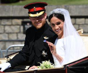 العائلة المالكة البريطانية تشكر من حضر حفل زفاف الأمير هاري وماركل