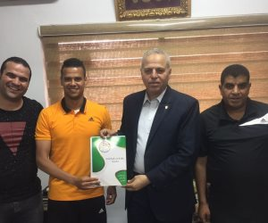 الإنتاج الحربي يضم لاعب اليرموك الأردني