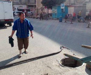 مياه القناه تكثف أعمال التطهير بشبكة مياه الشرق بقطاع بورسعيد