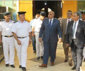 مساعد وزير الداخلية يتفقد الأحوال الميعيشية لنزلاء ليمان طرة (صور)