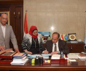 محافظ الإسكندرية يعتمد نتيجة الشهادة الإعدادية بنسبة نجاح 85%