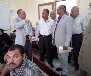 وكيل وزارة التعليم بسوهاج يتابع أعمال تصحيح الشهادة الإعدادية بقطاع جنوب (صور)
