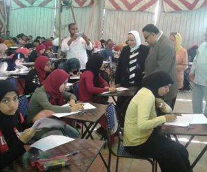 «جابر» يتابع أعمال الامتحانات الإلكترونية للمكفوفين لأول مرة بجامعة الاسكندرية (صور)