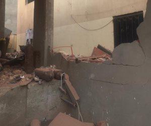 بعد انفجار خزان الأكسجين.. مصنع بالشرقية خاويا على عروشه (صور)