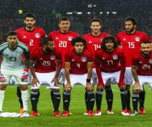ودية الكويت.. مصر ترتدي القميص الأحمر والشورت الأبيض