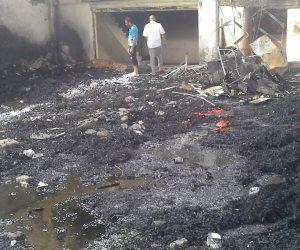 ماس كهربائى وراء حريق «سوق الجملة» بأكتوبر .. والنيابة تطلب التحريات