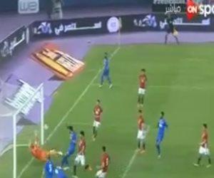 الشوط الأول.. الكويت تتقدم على مصر بهدف فهد الأنصاري