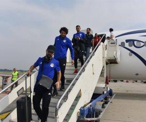 بعثة المنتخب المصري تستعد للقاء كولومبيا بإيطاليا في غياب محمد صلاح (صور)