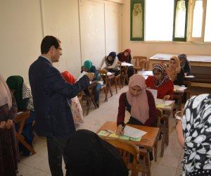 نائب رئيس جامعة الأزهر يتفقد لجان امتحانات كليات جامعة الأزهر بطنطا