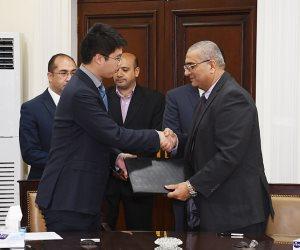 الإسكان توقع مذكرة لإنشاء أول منطقة صناعية بالعلمين الجديدة مع شركة صينية (صور)