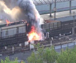 السيطرة على حريق غرفة التبريد بمحطة مترو الشهداء