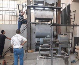 نماذج مشرفة.. أول مصنع لأعلاف الأسماك الطافية بتصميم وتصنيع محلي برعاية «جامعة أسيوط»