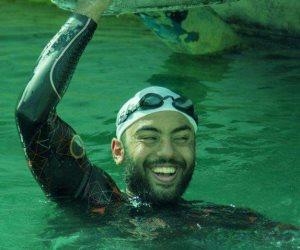 السباح المصري عمر حجازي يتلقى دعوة للمشاركة في أكبر البطولات في بريطانيا