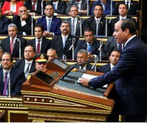 الرئيس السيسي يصل البرلمان لأداء اليمين الدستورية لفترة رئاسية ثانية (بث مباشر)