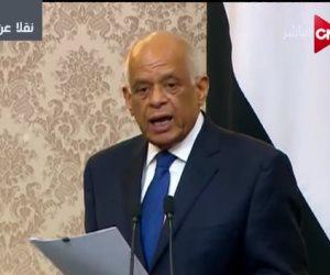 رئيس البرلمان: الولاية الأولى للسيسي شهدت إنجازات عظيمة