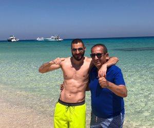 3 أيام ذهبية في الغردقة.. تفاصيل زيارة كريم بنزيما للبحر الأحمر (صور)