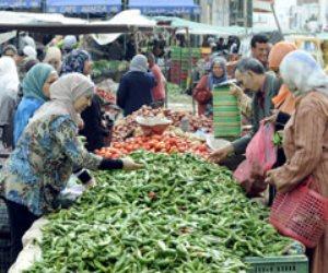 في سوق العبور.. استقرار أسعار الخضراوات والأسماك والفاكهة والبيض