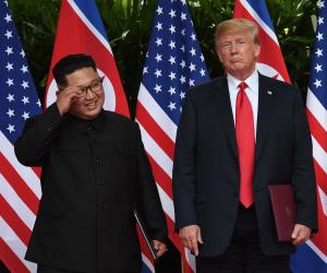 ترامب وزعيم كوريا الشمالية يبحثان وقف البرنامج النووى مجددا.. مباحثات لتحديد الموعد