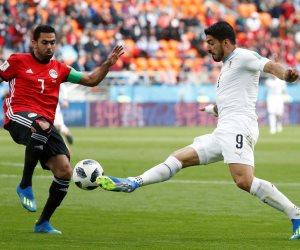 30 دقيقة من مباراة مصر واروجواى.. التعادل السلبي سيد الموقف