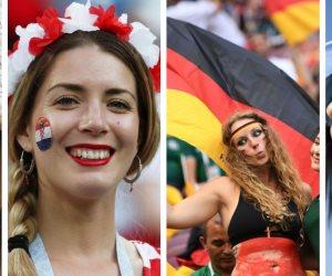 كأس العالم شكل تاني.. هكذا زينت الجميلات مدرجات روسيا (ملف تفاعلي)
