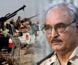 «النزيف».. حرب الأيام الـ7 بين المشير حفتر وميليشيات الجضران فى ليبيا