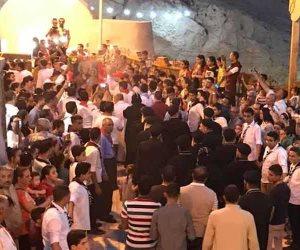 «حالة الحديد».. آلاف الأقباط يحتفلون بذكرى تحرير متياس الرسول (صور)