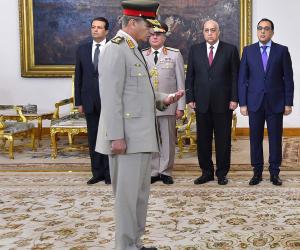 وزير الدفاع الجديد في حكومة مدبولي.. تعرف على السيرة الذاتية للفريق محمد أحمد زكي