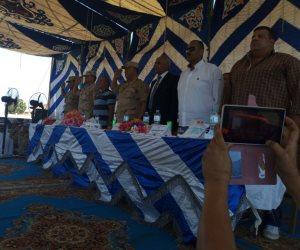 العميد شريف العرايشي: فتح شاطئ الرواق للأهالي و إعادة العمل بمشاريع البنية التحيته ببئر العبد (صور)
