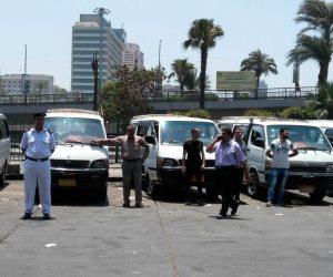 حماية للمواطنين.. المرور تشن حملة للرقابة على تعريفة الركوب