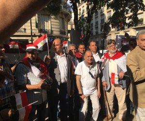 «السيسي أنقذنا من الإرهاب».. كيف احتفل المصريون في فرنسا بذكرى 30 يونيو؟