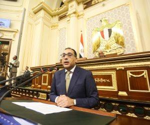 مدبولي ووزراء يصلون البرلمان.. ونائب رئيس الأغلبية: لن نمضي على بياض للحكومة