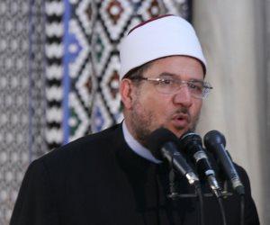 وزير الأوقاف من مسجد «محمد علي»: السنة النبوية هي المصدر الثاني للتشريع