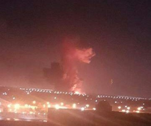 المتحدث العسكري: ارتفاع درجات الحرارة وراء انفجار خزانين الوقود بمحيط مطار القاهرة