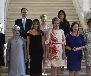 سر ظهور رجل وسط «سيدات الناتو»..قصة «شريك حياة» رئيس وزراء لوكسمبورج (صور)