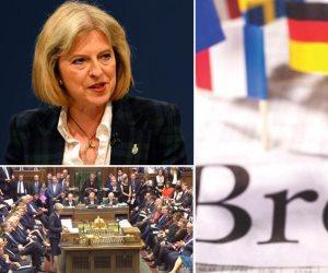 أيام بريطانية سريعة وقطار خروج بطيء.. هل تموت حكومة تيريزا ماي تحت عجلات بريكست؟